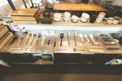 015_まかでき食堂 レンタルカフェスペースの設備の写真