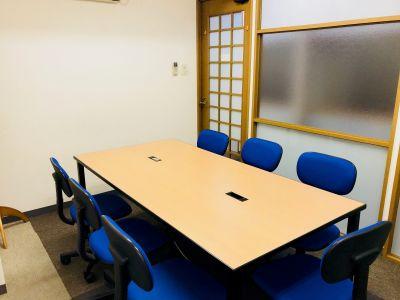 澤田聖徳ビル 終日ご利用プラン H会議室の室内の写真