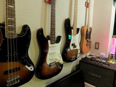 スタジオキーボード リハーサルスタジオの設備の写真