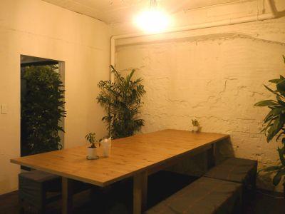 市ヶ谷レンタルスペース Lowp キッチン・ダイニングスペース貸切の室内の写真