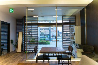 桜garden 会議室の入口の写真