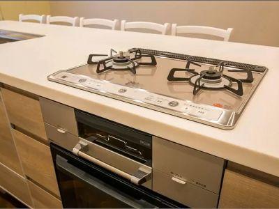 コンロになります。 - キッチン&オフィス 六本木の設備の写真