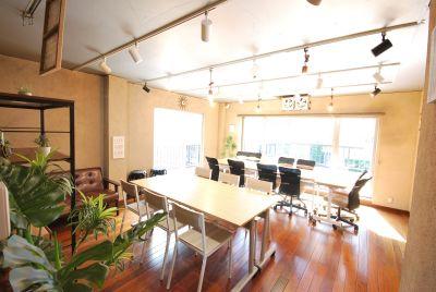 【スペースフォーリアル】 恵比寿駅2分で最大18収容可能の室内の写真