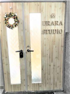 UraraStudio横浜 うらら 黄金町店の入口の写真