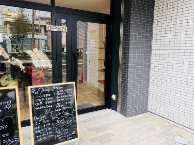 DS KITCHEN レンタルキッチンスペースの入口の写真