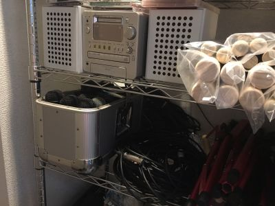 スタジオ太鼓庵 小スタジオの設備の写真