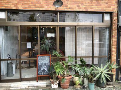 cafebar marimo メインスペースの入口の写真