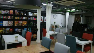 Third Place秋葉原 ボードゲームスペースの室内の写真