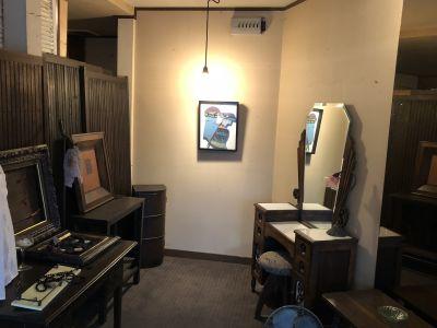 ギャラリー たんす 個展、ギャラリーの室内の写真