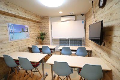 ワイキキスぺース🌴都会オアシス レンタルスペースの室内の写真