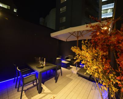 nakaniwa BBQ,パーティースペースの室内の写真