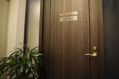 レンタルスペース「DBストーン」 3つのサロンスペース、会議室の入口の写真