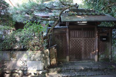 夷谷町日本家屋【蹴上駅徒歩6分】 和室、お茶室の入口の写真