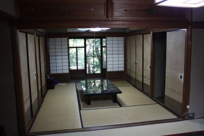 夷谷町日本家屋【蹴上駅徒歩6分】 和室、お茶室の室内の写真