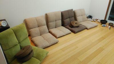 せしゅうどかや  竹のフロア 癒しの空間の室内の写真