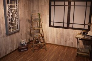 テーブル無し  ※スケルトン(装飾備品無)も対応可 - hair ROOK るうく 2F 貸スタジオの室内の写真