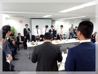 【新宿】知恵の場オフィス 別館 新宿駅徒歩7分 セミナールームの室内の写真