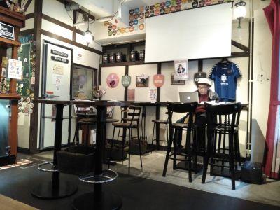 HIGHBURY  パブリックスペースの室内の写真