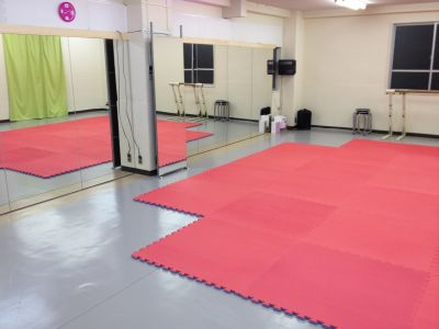 カトゥーンダンススタジオ レンタルスタジオの室内の写真