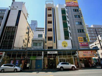 ラウンジスペースQooOsaka ホステルラウンジの外観の写真