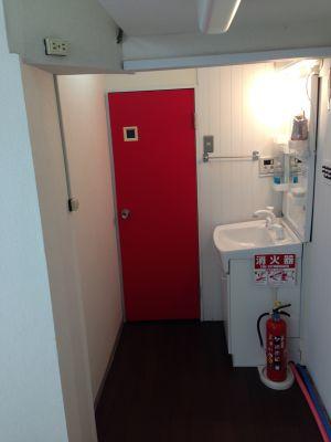 トイレ。洗面所 - マーシャルアーツ&フィットネスLuminous ジム貸切の設備の写真