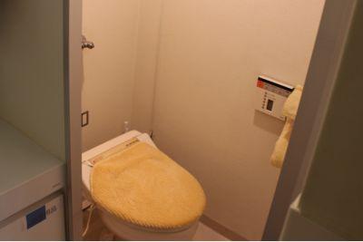 トイレ - 東新宿レンタルスペース ①有効ベッド・整体アロマ鍼灸の設備の写真