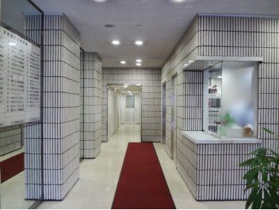 GYMTY西梅田 プライベートジムスペース西梅田の入口の写真