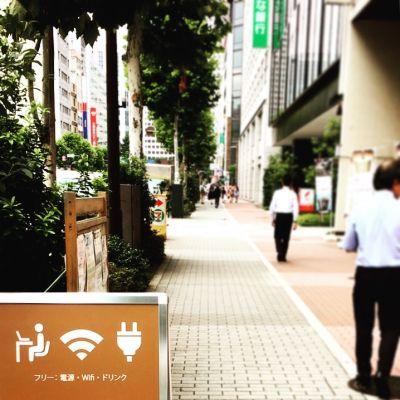 MYBASICOFFICE虎ノ門 デスクの入口の写真