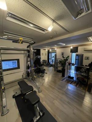 GymFLEX 大型貸切ジム!セミナー、撮影にの室内の写真