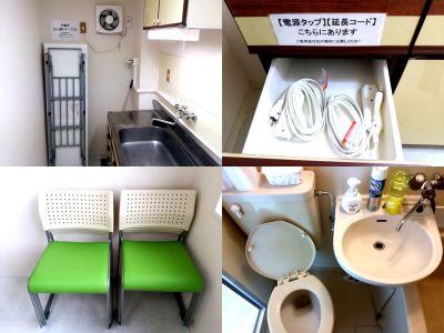 【大宮駅東口4分】小会議室 小会議室/セミナールームの設備の写真