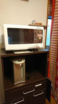 オールドアパートメント 6名用個室スペースの設備の写真