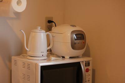 037_MOLE八丁堀 キッチン付きスペースの設備の写真