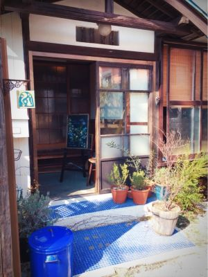 玄関前も人気の撮影スポットです。古民家の趣をお楽しみください。 - 江ノ島10分古民家喫茶ラムピリカ 喫茶ラムピリカの入口の写真