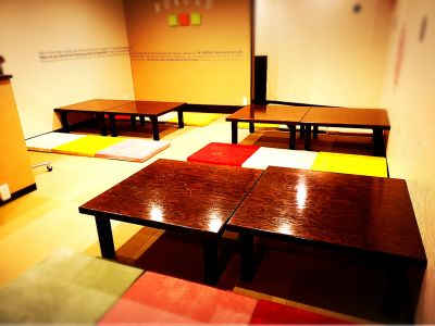 レンタルルームKUKURU 和室 オシャレキッチン付きの室内の写真