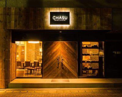 CHASU (チャス)  イタリアンバルの入口の写真