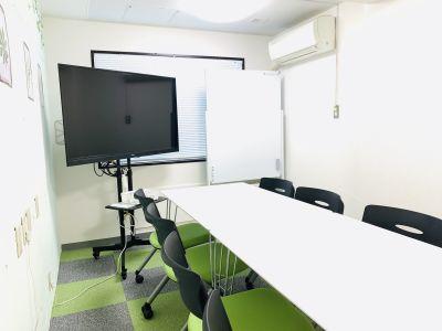 まちの会議室★東中野 コンパクトな会議に<ミント>の室内の写真
