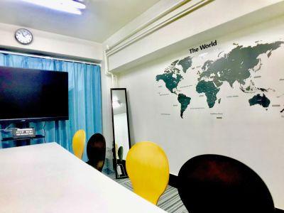 【溜池山王のみんなの会議室】 Wi-Fi無料の貸し会議室♪の室内の写真