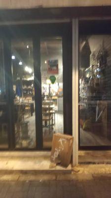 代田橋バルawaited ワークショップ、ライブスペースの入口の写真