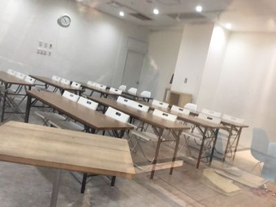 福岡クリエイティブビジネスセンター(FCBC) ラウンジスペースの室内の写真