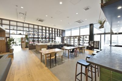 Cafe aimantの室内の写真