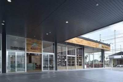 Cafe aimantの外観の写真