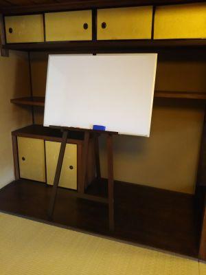きっさこ和束レンタルスペース 和室八畳間の設備の写真
