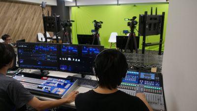 BlueOceanスタジオ ライブ配信スタジオの設備の写真