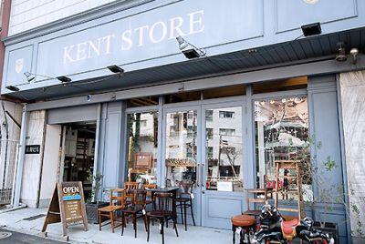 ケントストア キッチンスタジオの入口の写真