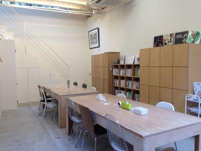 シェアスペース「マリアハウス」 コワーキングスペース の室内の写真