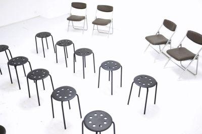 スツール×20 背もたれ付き椅子×40 - #Studio 0  多目的レンタルスタジオの室内の写真