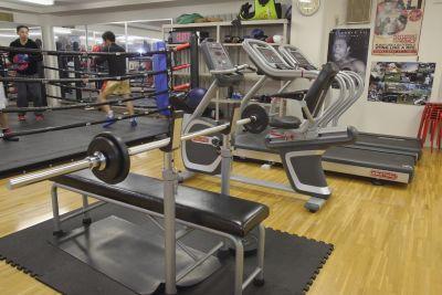 リラックスボクシングジム 各種教室に対応の設備の写真