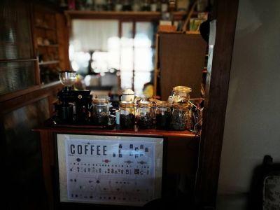 お客様に珈琲をお作りする台です。(奥は立入禁止エリアになります) - 江ノ島10分古民家喫茶ラムピリカ 喫茶ラムピリカの室内の写真