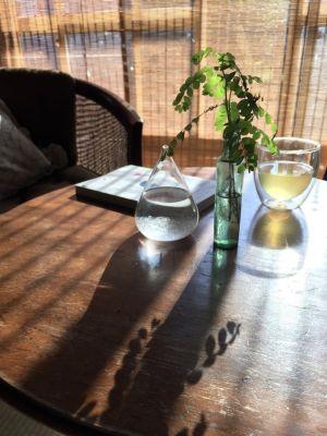 朝の光の差し込みはとてもきれいです。 - 江ノ島10分古民家喫茶ラムピリカ 喫茶ラムピリカの設備の写真