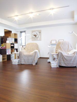 完全個室のプライベートサロン♪ レンタルサロンの室内の写真
